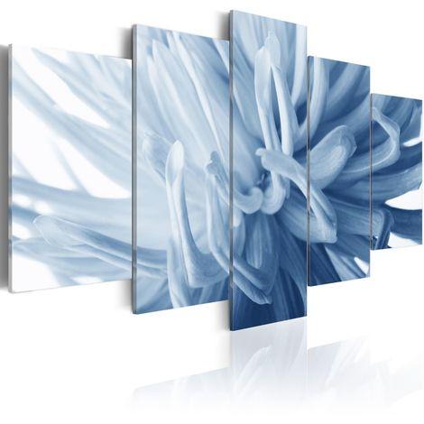 Cuadro Dalia azul cm 100x50 Artgeist A1-N1593