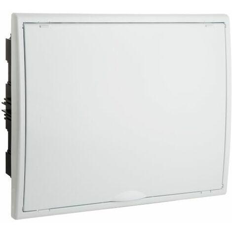 Cuadro de automáticos de empotrar 12 elementos blanco Solera