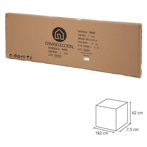Cuadro de barco bastidor de madera en lienzo coral de 60x180 cm