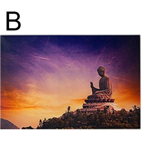 Cuadro de cristal - Buda (60 x 90 cm) B