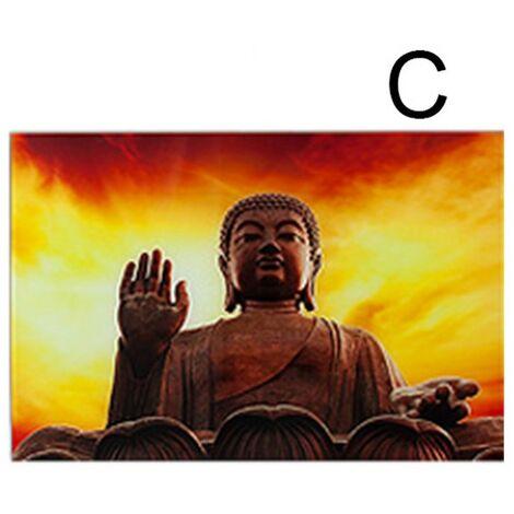 Cuadro de cristal - Buda (60 x 90 cm) C