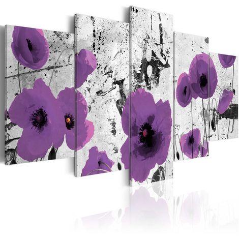 Cuadro Disonancia de púrpura cm 200x100 Artgeist