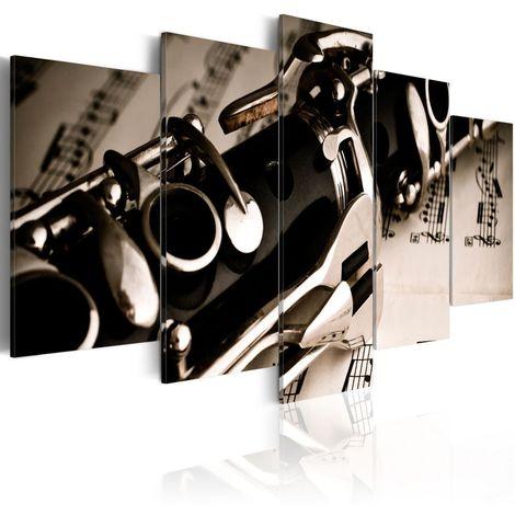 Cuadro El sonido del clarinete cm 100x50 Artgeist A1-N1507