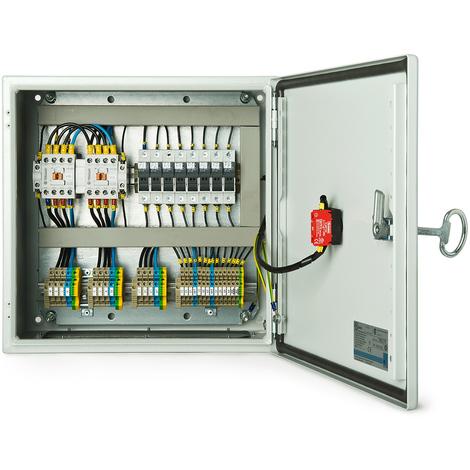 CUADRO ELECTRICO DE SOLO CONMUTACIÓN (LTS) 4 POLOS TRIFÁSICO 60 AMP CON CONTACTORES TERASAKI