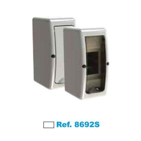 Cuadro eléctrico de superficie 2 elementos blanco Solera Arelos 8692S
