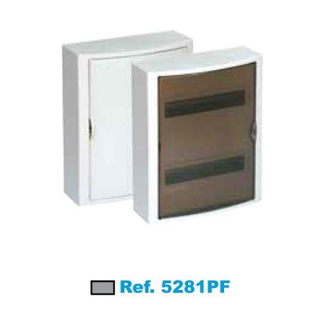 Cuadro eléctrico de superficie 28 elementos fumé Solera Arelos 5281PF