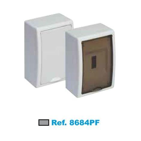 Cuadro eléctrico de superficie 4 elementos fumé Solera Arelos 8684PF
