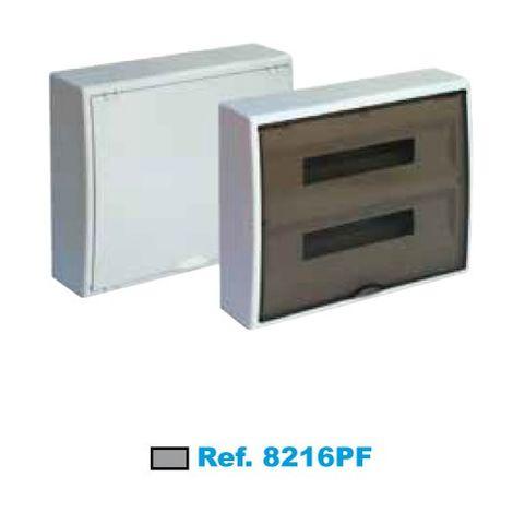 Cuadro eléctrico de superficie 40 elementos fumé Solera Arelos 8216PF