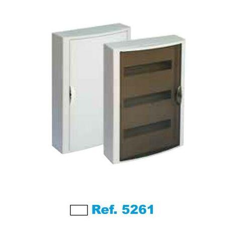 Cuadro eléctrico de superficie 42 elementos blanco Solera Arelos 5261