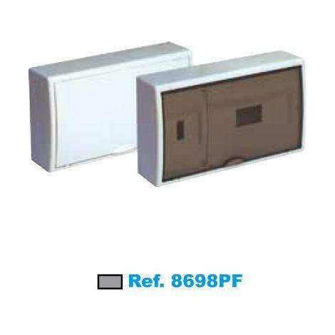 Cuadro eléctrico de superficie ICP+12 elementos fumé Solera Arelos 8698PF