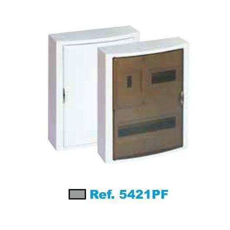 Cuadro eléctrico de superficie ICP+20 elementos fumé Solera Arelos 5421PF