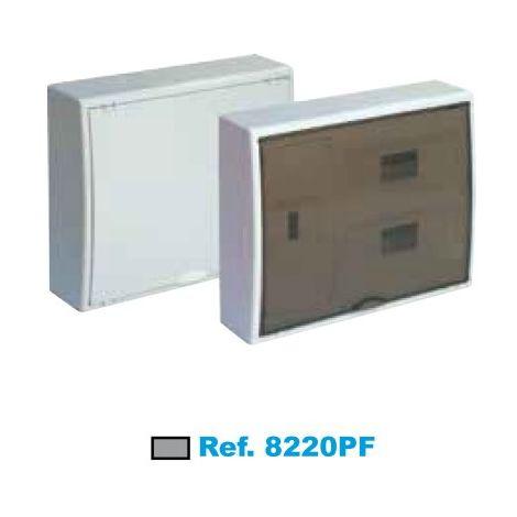 Cuadro eléctrico de superficie ICP+24 elementos fumé Solera Arelos 8220PF