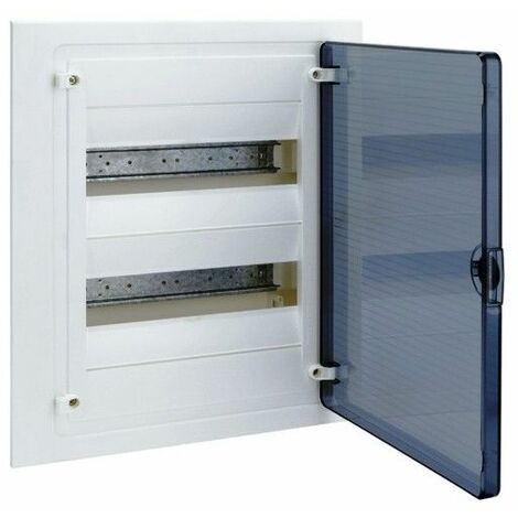 Cuadro electrico empotrable HAGER GOLF VF212TE con puerta transparente