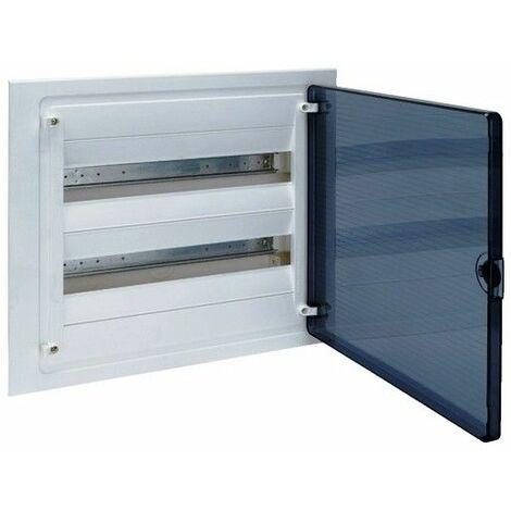 Cuadro electrico empotrable HAGER GOLF VF218TES con puerta transparente