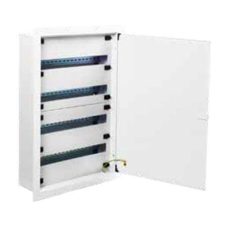 Cuadro eléctrico metálico de empotrar 96 módulos Steelbox Solera M4E96