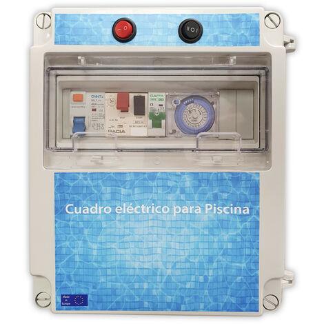 Cuadro eléctrico para piscina con transformador