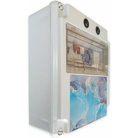 Cuadro eléctrico para piscina con transformador y Contactor para motor