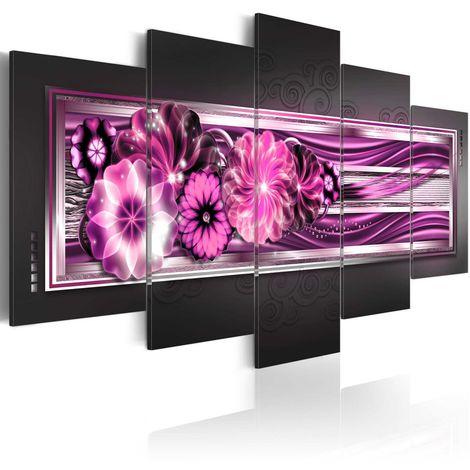 Cuadro En las ondas rosadas cm 200x100 Artgeist A1-N3043-DKX