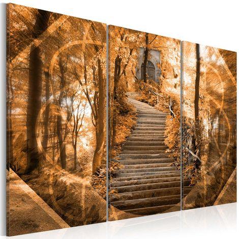 Cuadro Escaleras al cielo Banksy cm 120x80 Artgeist
