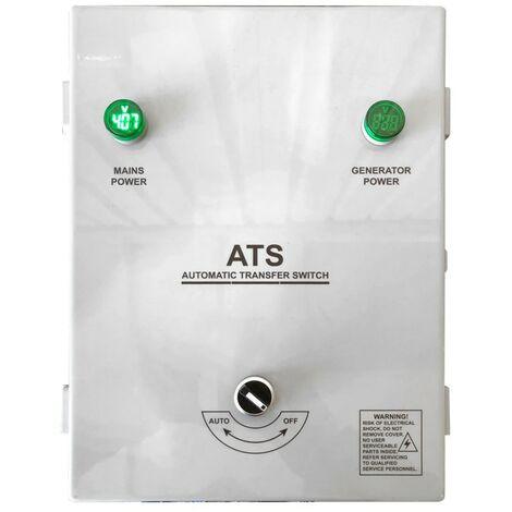 Cuadro ITC POWER AC-ATS12-3P, para conmutacion caida de tension en la Red electrica. Trifásico. ATS Box para generadores 3.000 RPM. ATS12-3P