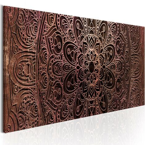 Cuadro - Mandala: Amber Silence - 150x50