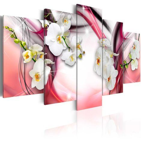 Cuadro Melodía rosa cm 100x50 Artgeist A1-N3928