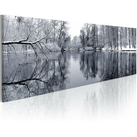 Cuadro - paisaje: invierno - 150x50