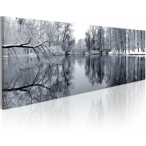 Cuadro - paisaje: invierno