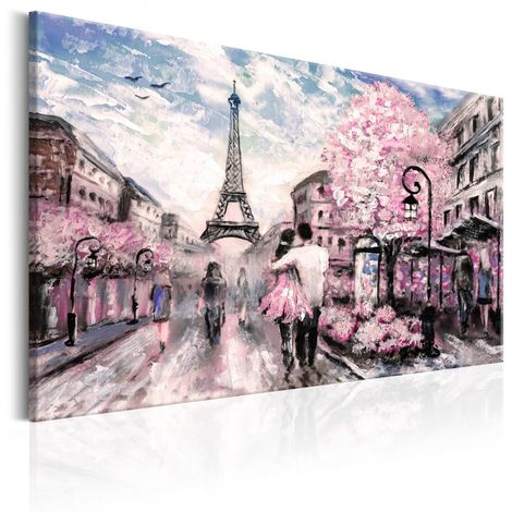 Cuadro París en rosa cm 90x60 Artgeist A1-N6447
