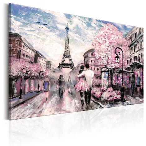 Cuadro - París en rosa - 120x80