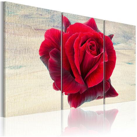Cuadro - Rosa lírica - 120x80