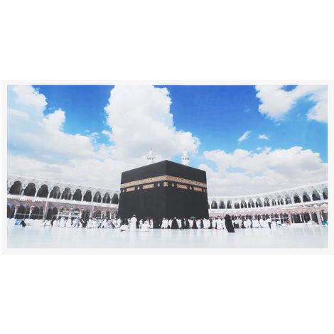 Cuadro Sin Marco Pintura Lienzo Islam Sasicare