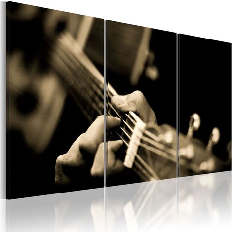 Cuadro Sonido mágico de una guitarra cm 120x80 Artgeist A1-N1511-DKX
