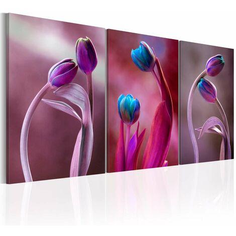 Cuadro - Tulipanes enamorados