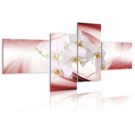Cuadro - Una orquidea rosa - 100x45