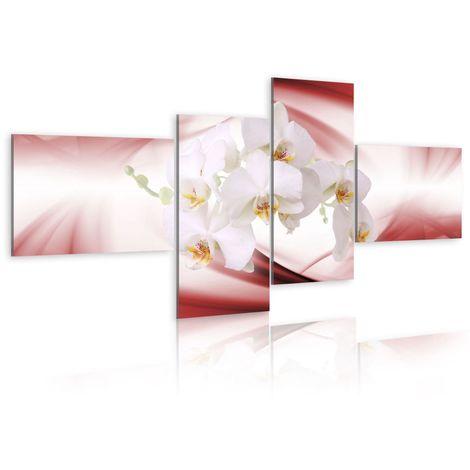 Cuadro Una orquidea rosa cm 100x45 Artgeist A1-N1342