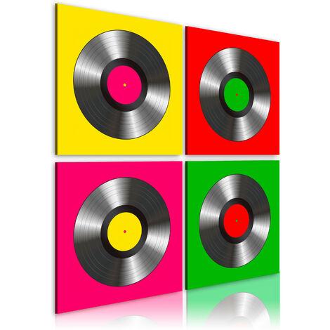 Cuadro - Vinilos: arte Pop - 80x80