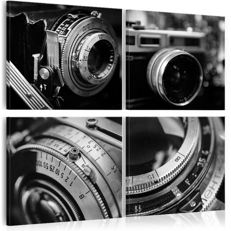 Cuadro - Vintage Cameras - 80x80