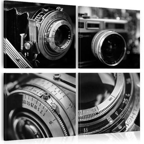 Cuadro Vintage Cameras cm 90x90 Artgeist