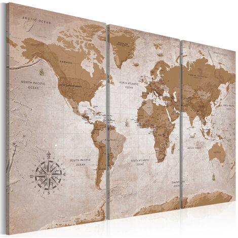 Cuadro - Vintage Map: Oriental Travels - 120x80