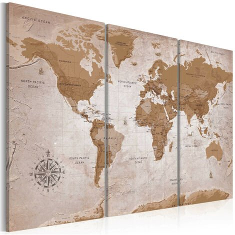 Cuadro - Vintage Map: Oriental Travels - 90x60