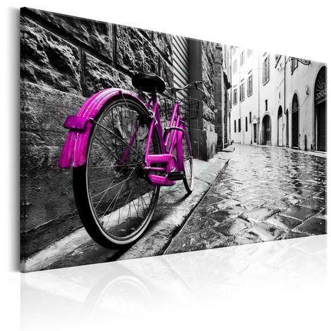 Cuadro Vintage Pink Bike cm 90x60 Artgeist