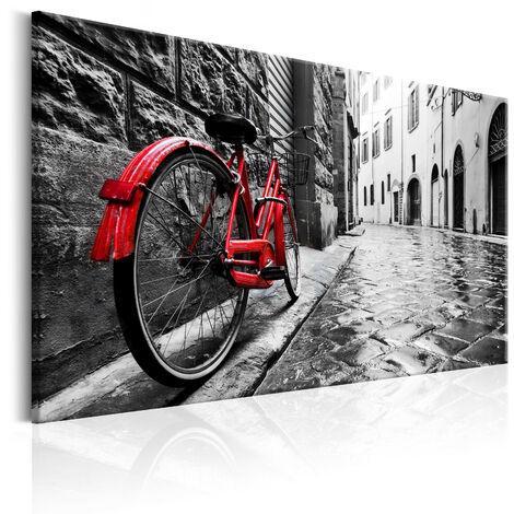 Cuadro - Vintage Red Bike - 120x80