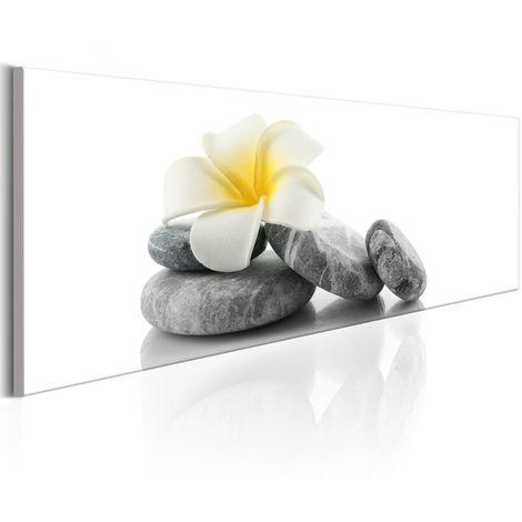 Cuadro White Lotus cm 120x40 Artgeist A1-N6570