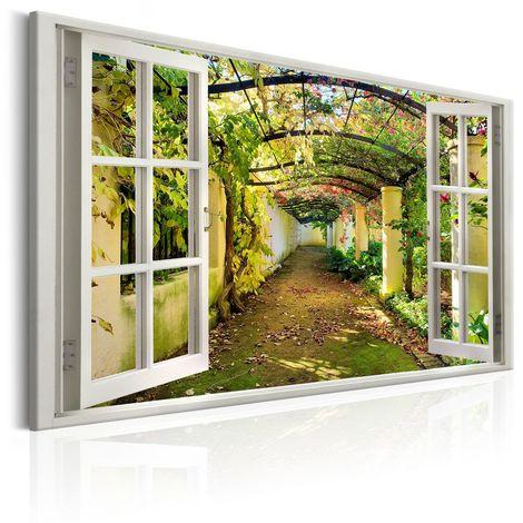 Cuadro Window View on Pergola cm 90x60 Artgeist A1-N6965-DX