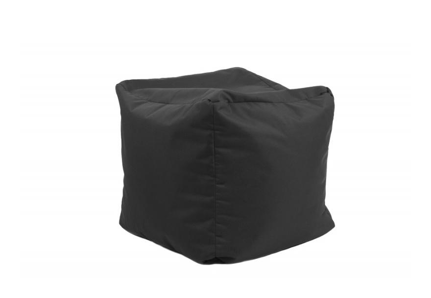 Pouf Cube repose-pieds Gris anthracite - Jumbo Bag