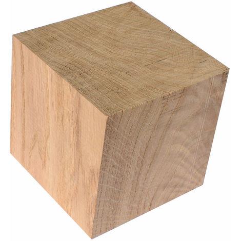 Cube chêne massif 10
