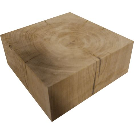 Cube chêne massif 24