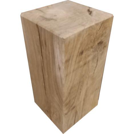 Cube chêne massif 45C