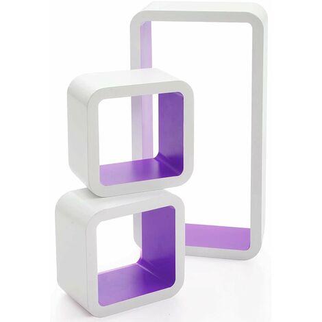 Cube Regal Oxford | 3-teilig | 4 Farben